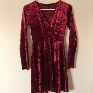 New Forever21 Velvet Dress